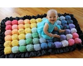 Самодельный коврик для малыша.