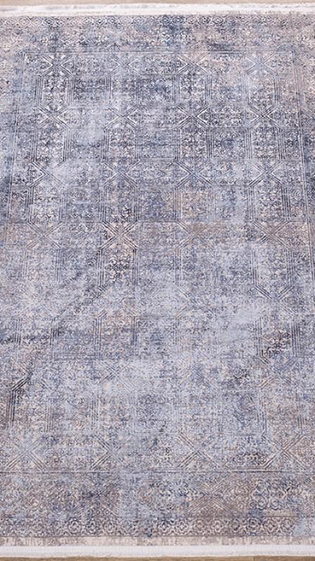 Ковер Doku B167E COKME_DGRAY / L_BLUE