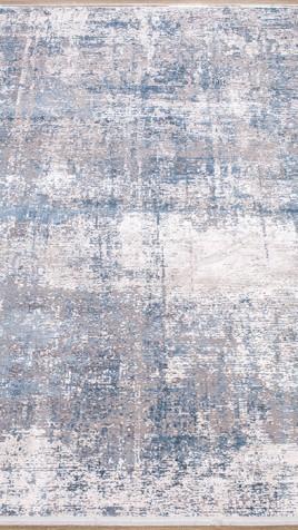 Ковер Doku B174E COKME_DGRAY / L_BLUE