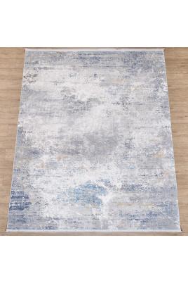 Ковер Lite B650B CREAM / D_BLUE